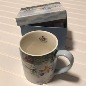 Other - NWT Jane Shasky Happy Snowman 14 oz Ceramic Mug